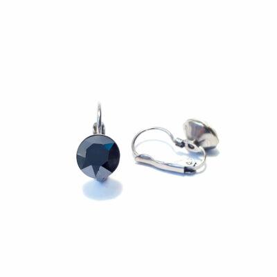 8mm-es francia kapcsos fülbevaló