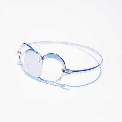Nemesacél merevpántos karkötő üvegtechnikusok számára /17x17mm/