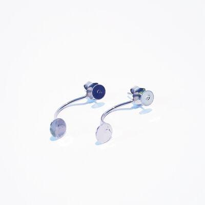Nemesacél fülbevaló alap üvegtechnikusoknak