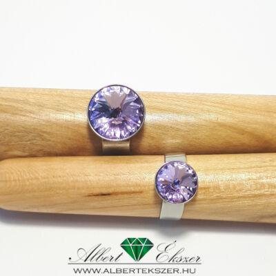 Anya-lánya gyűrű világos lilában