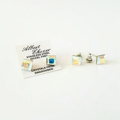 Uniszex beszúrós Swarovski kristályos fülbevalók - pároknak is