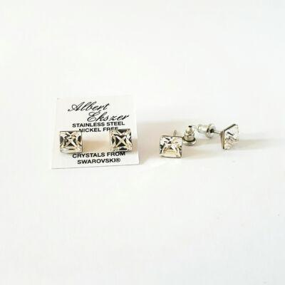 Uniszex beszúrós Swarovski kristályos fülbevalók - pároknak.
